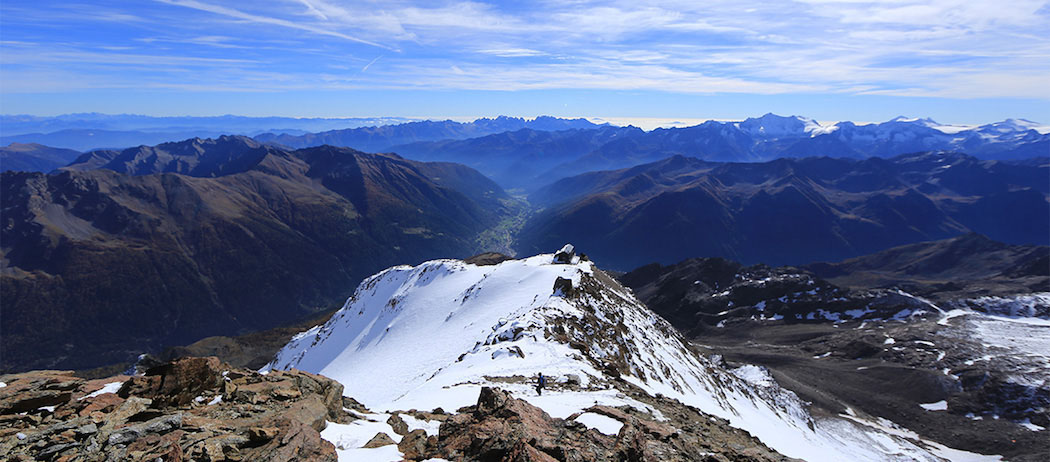 L'aria migliore è sopra i 3.000 mt